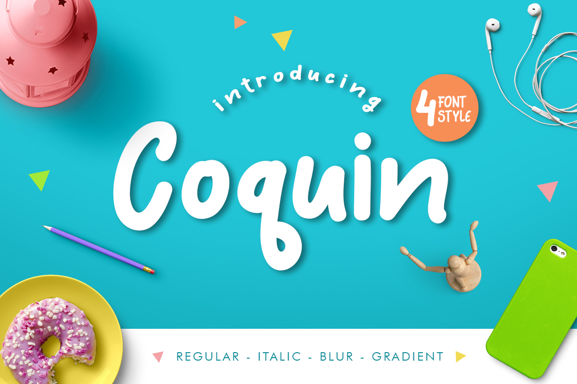 Print on Demand: Coquin Decorative Font By Debut Studio - Image 1