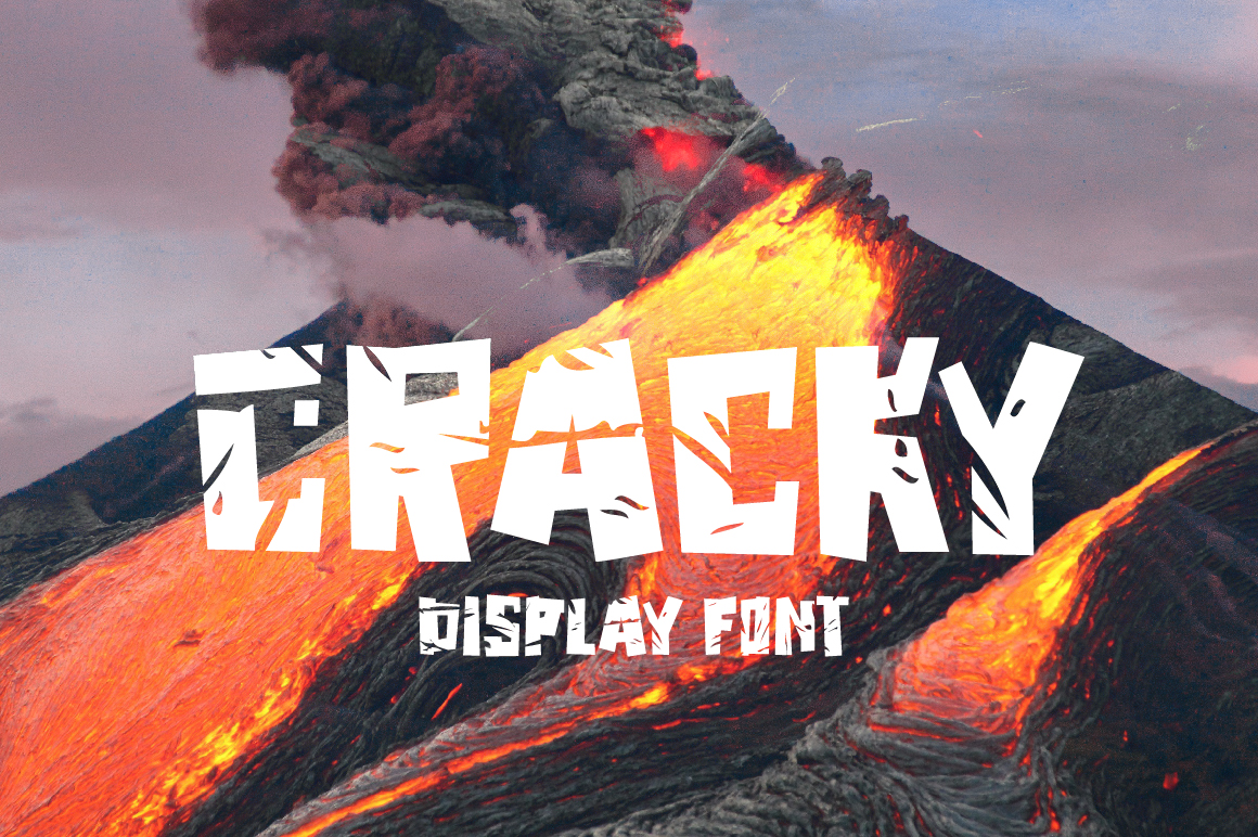 Print on Demand: Cracky Display Font By ChekArt