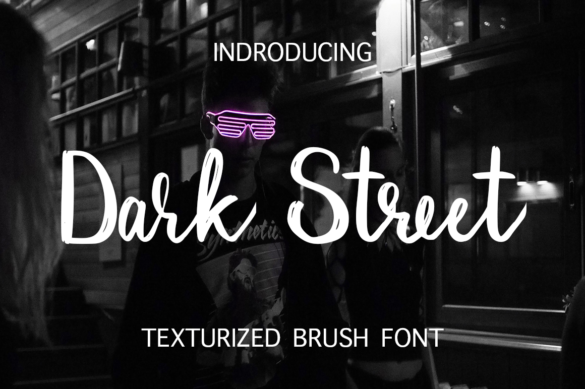 Dark Street Script & Handwritten Font By InkandBrush