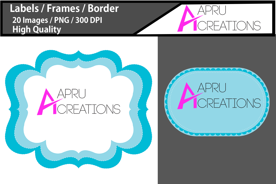 Download Free Digital Frames Clipart Graphic By Aparnastjp Creative Fabrica for Cricut Explore, Silhouette and other cutting machines.