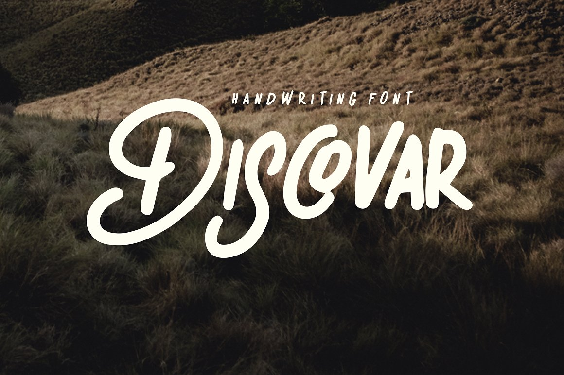 Print on Demand: Discovar Script & Handwritten Font By bloomxxvi