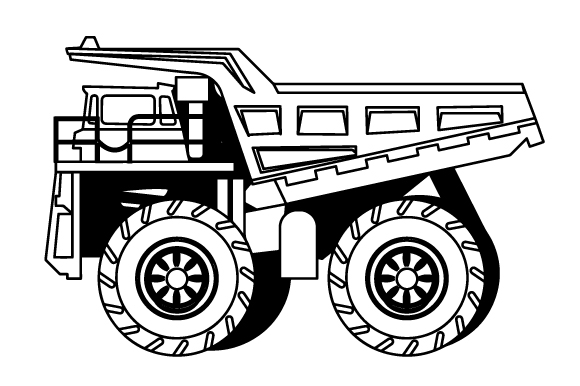 Download Free Dump Truck Svg Cut File By Creative Fabrica Crafts Creative for Cricut Explore, Silhouette and other cutting machines.