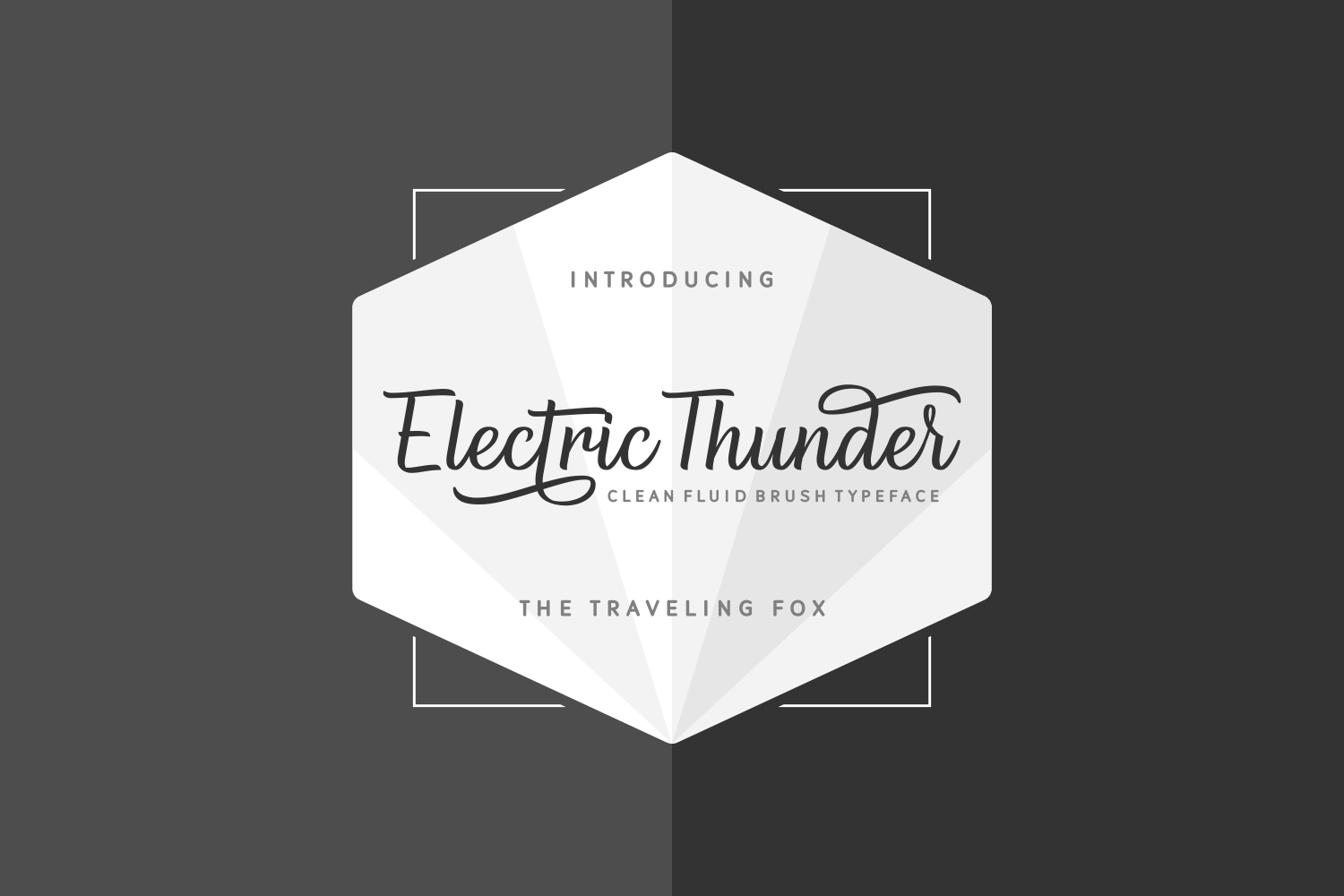 Print on Demand: Electric Thunder Script & Handwritten Font By The Traveling Fox - Image 3