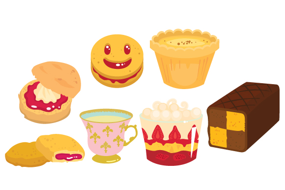 Download Free English Pastries Svg Cut File By Creative Fabrica Crafts for Cricut Explore, Silhouette and other cutting machines.