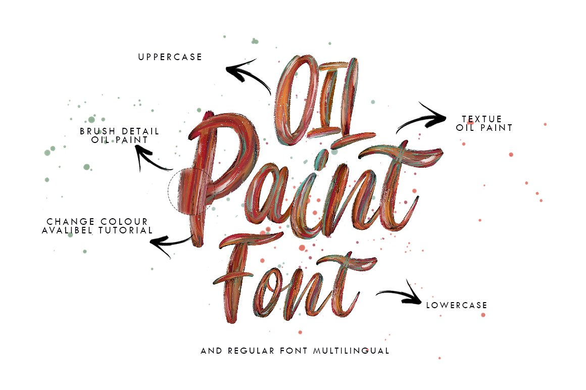 Print on Demand: Flow Display Font By bloomxxvi - Image 2