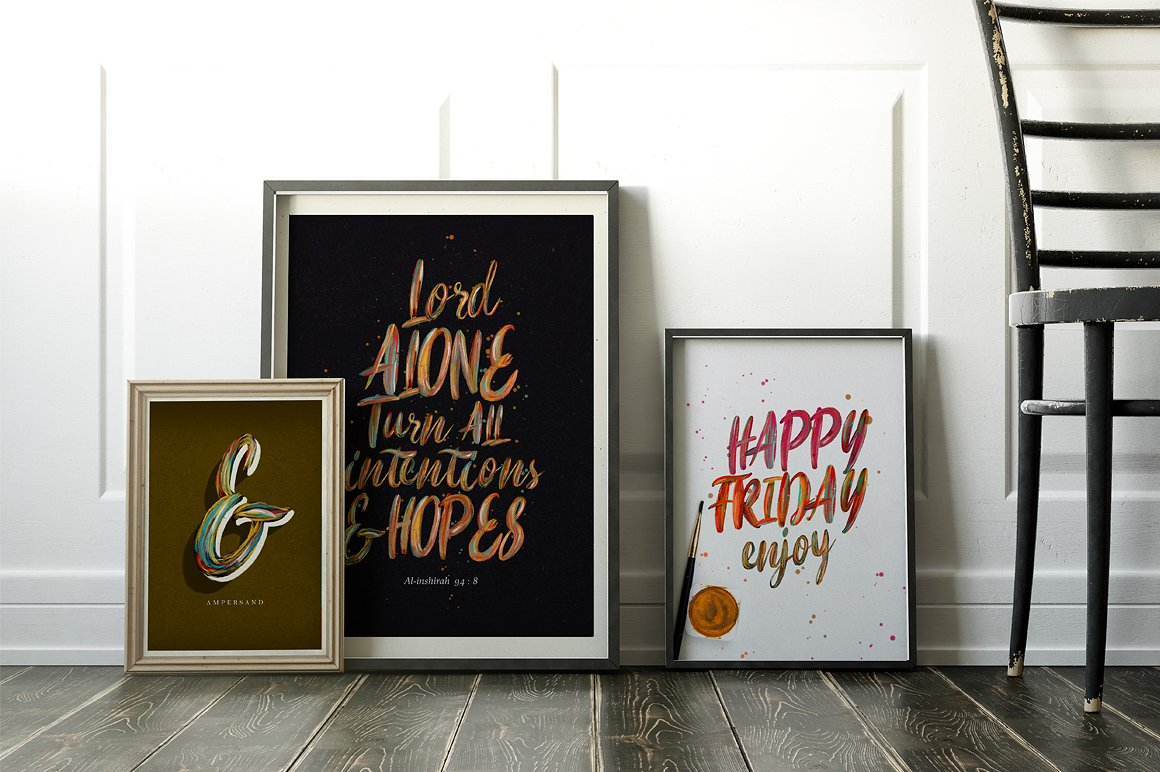 Print on Demand: Flow Display Font By bloomxxvi - Image 5