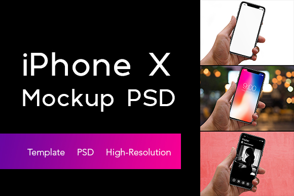 Free IPhone X Mockup PSD Graphic By Creative Fabrica Freebies