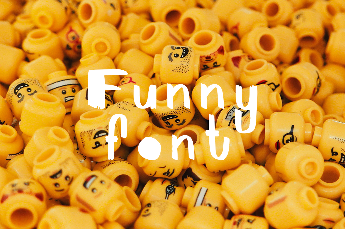 Print on Demand: FunnyFont Display Font By Gennadii ART