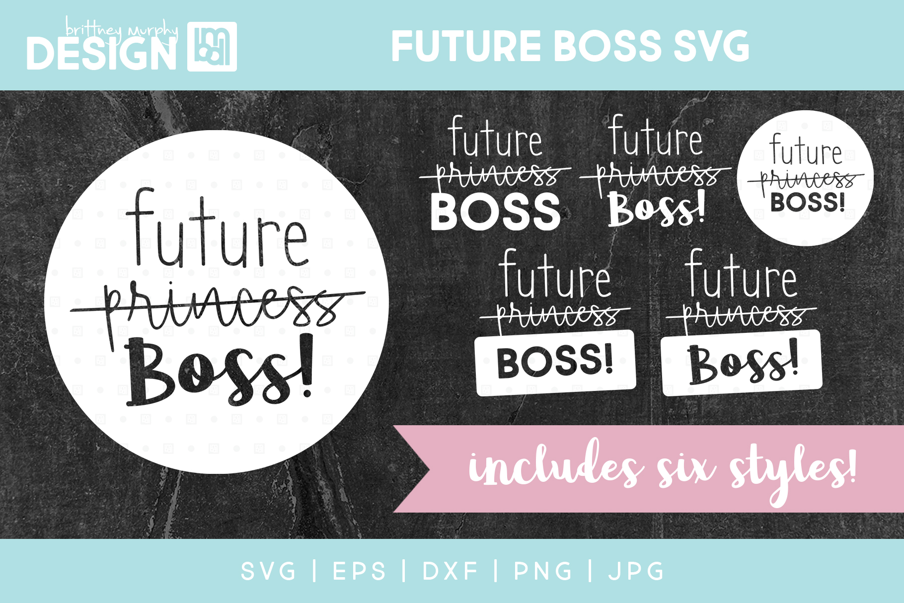 Future Boss Graphic Illustrations By brittneymurphydesign