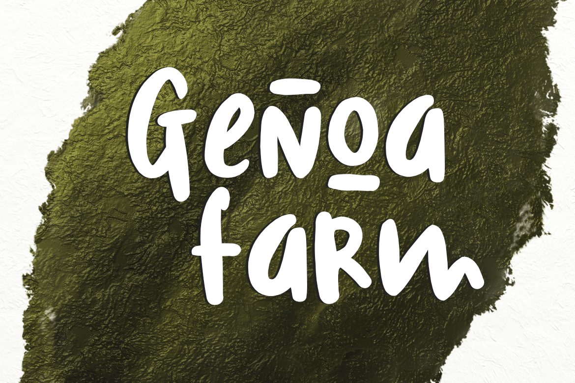 Print on Demand: Genoa Farm Display Font By LebahStudio