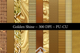 Golden Shine Graphic By Sojournstar