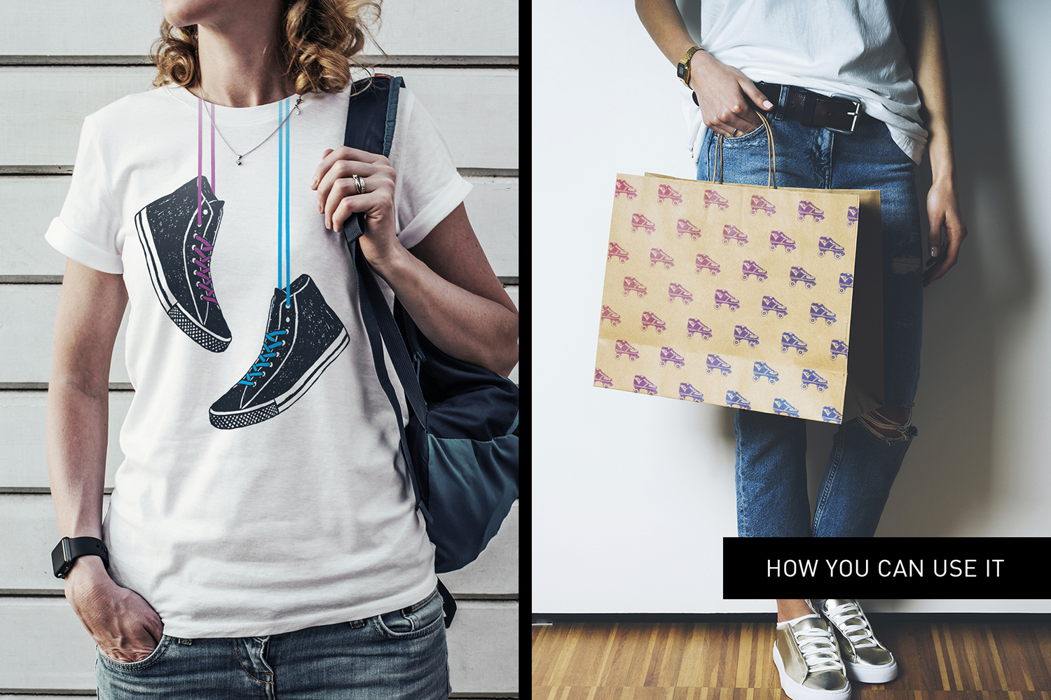 Print on Demand: Good Shoes - 8 Inspirational Badges Graphic Logos By Cosmic Store - Image 13