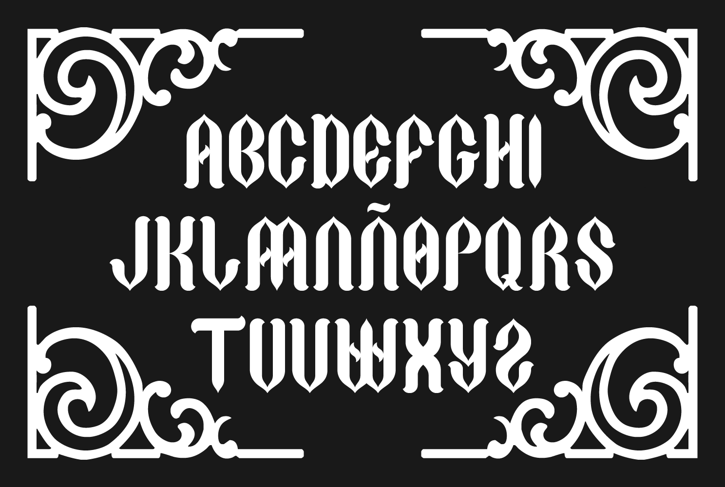 Print on Demand: Gothycal Blackletter Font By TypEra - Image 2