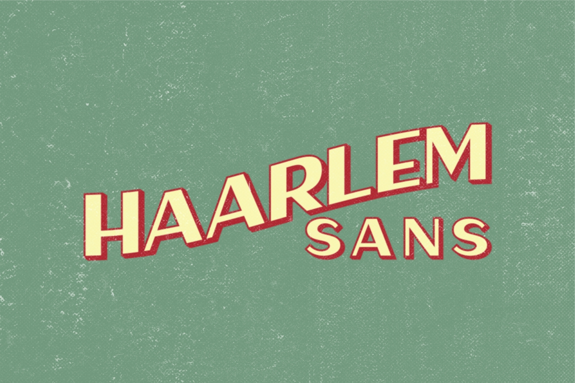 Print on Demand: Haarlem Sans Display Font By Fontdation - Image 1