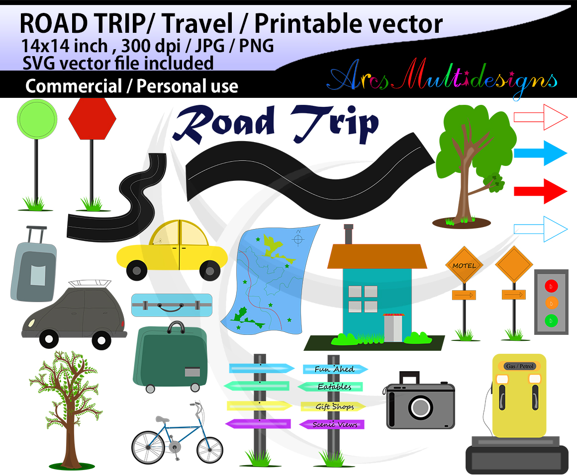 Print on Demand: Hand Drawn Clipart Graphic Illustrations By Arcs Multidesigns