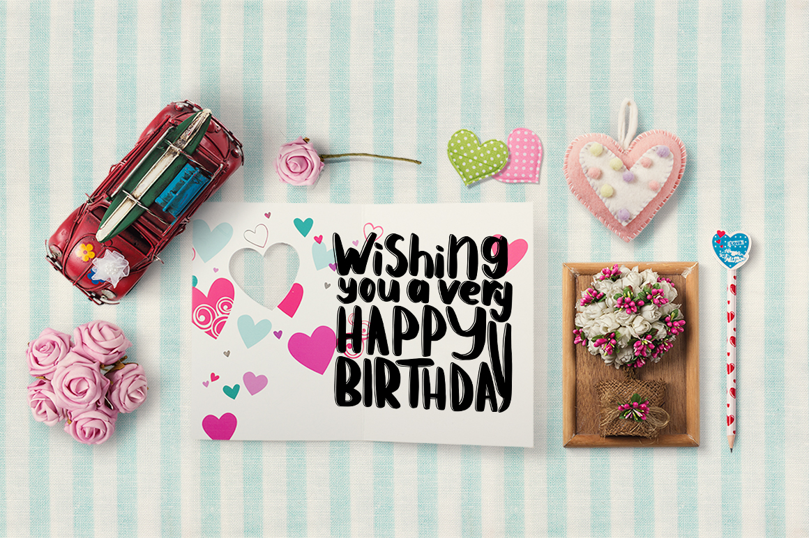Have A Birthday Lettering Graphic By Gennadii Art Creative