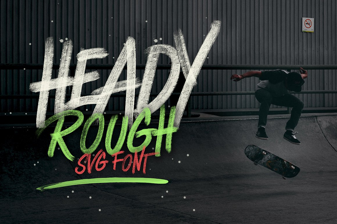 Print on Demand: Heady Roug Display Font By bloomxxvi