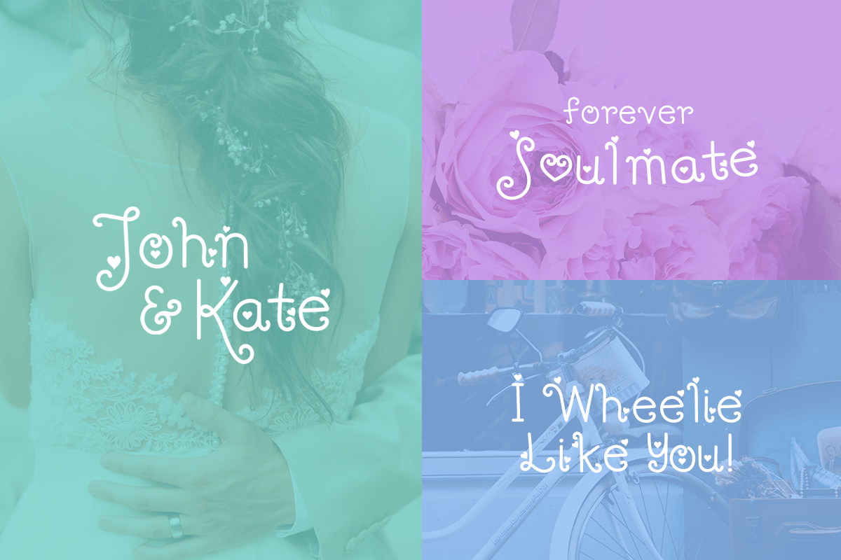 Download Free Hey Love Font By Typefairy Creative Fabrica for Cricut Explore, Silhouette and other cutting machines.