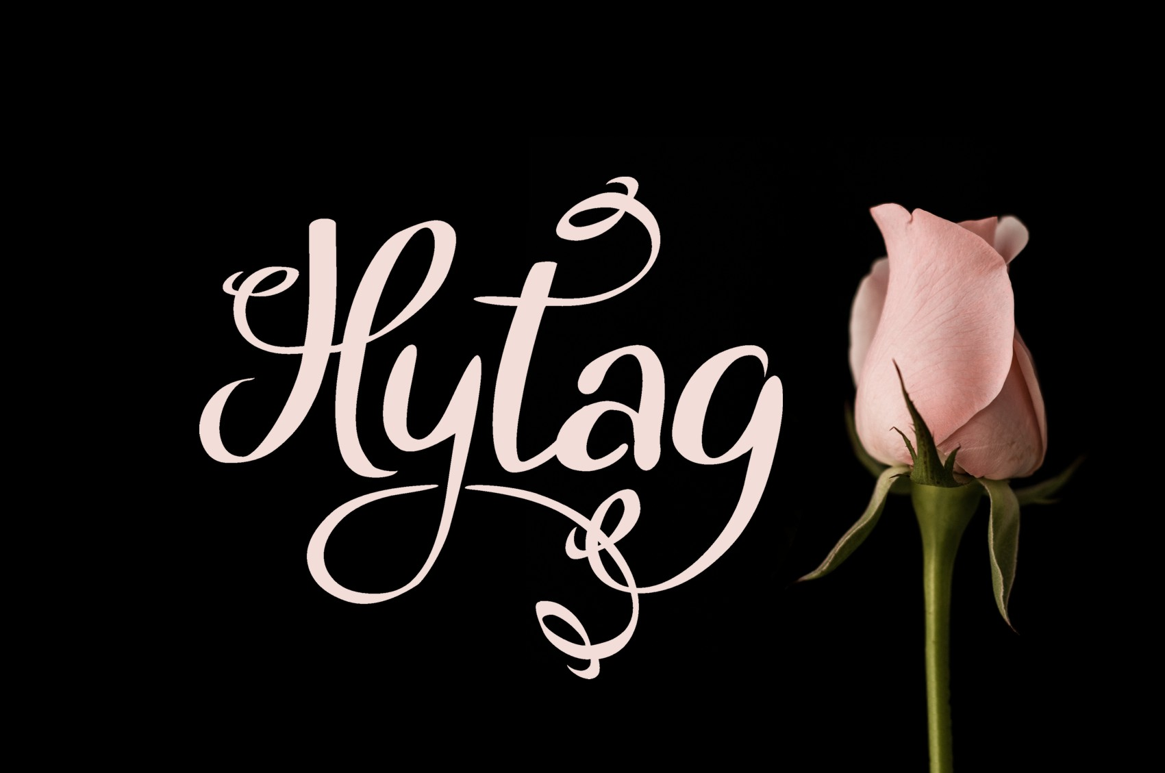 Print on Demand: Hytag Script & Handwritten Font By Eva Barabasne Olasz