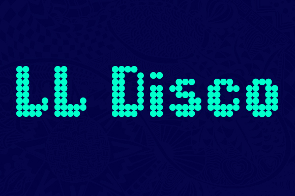 Print on Demand: LL Disco Display Font By Markus Schroppel