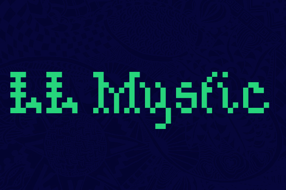 Print on Demand: LL Mystic Display Font By Markus Schroppel