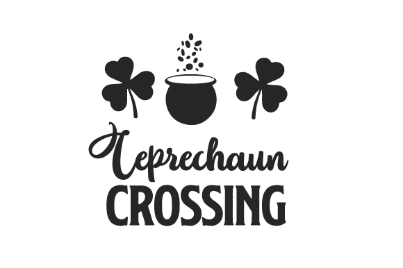 Leprechaun Crossing Saint Patrick's Day Craft Cut File By Creative Fabrica Crafts - Image 2