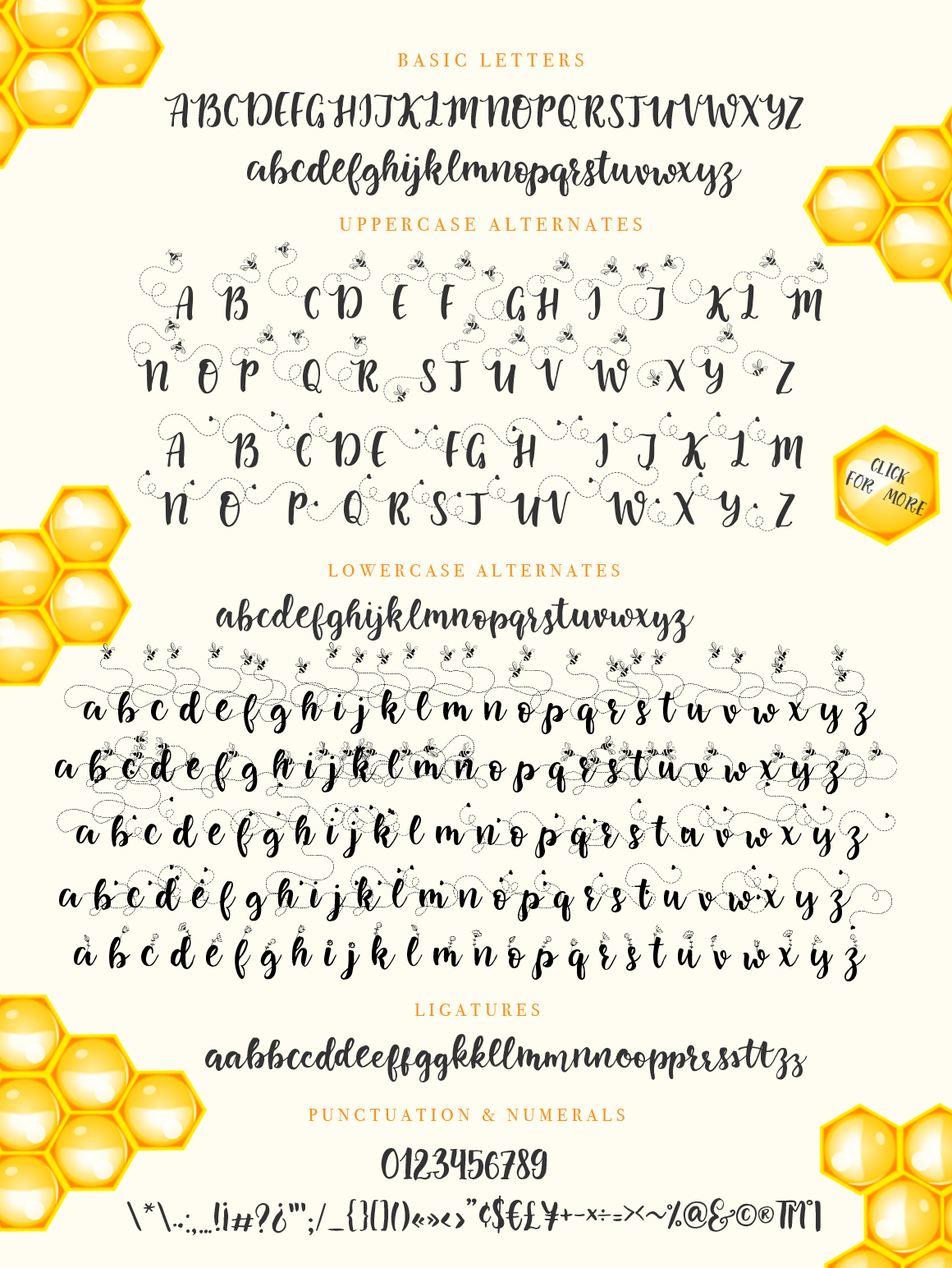 Print on Demand: Little Bee Duo Script & Handwritten Font By Red Ink - Image 9