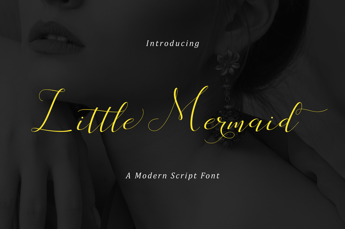 Little Mermaid Font By No Gravity Type Image 2