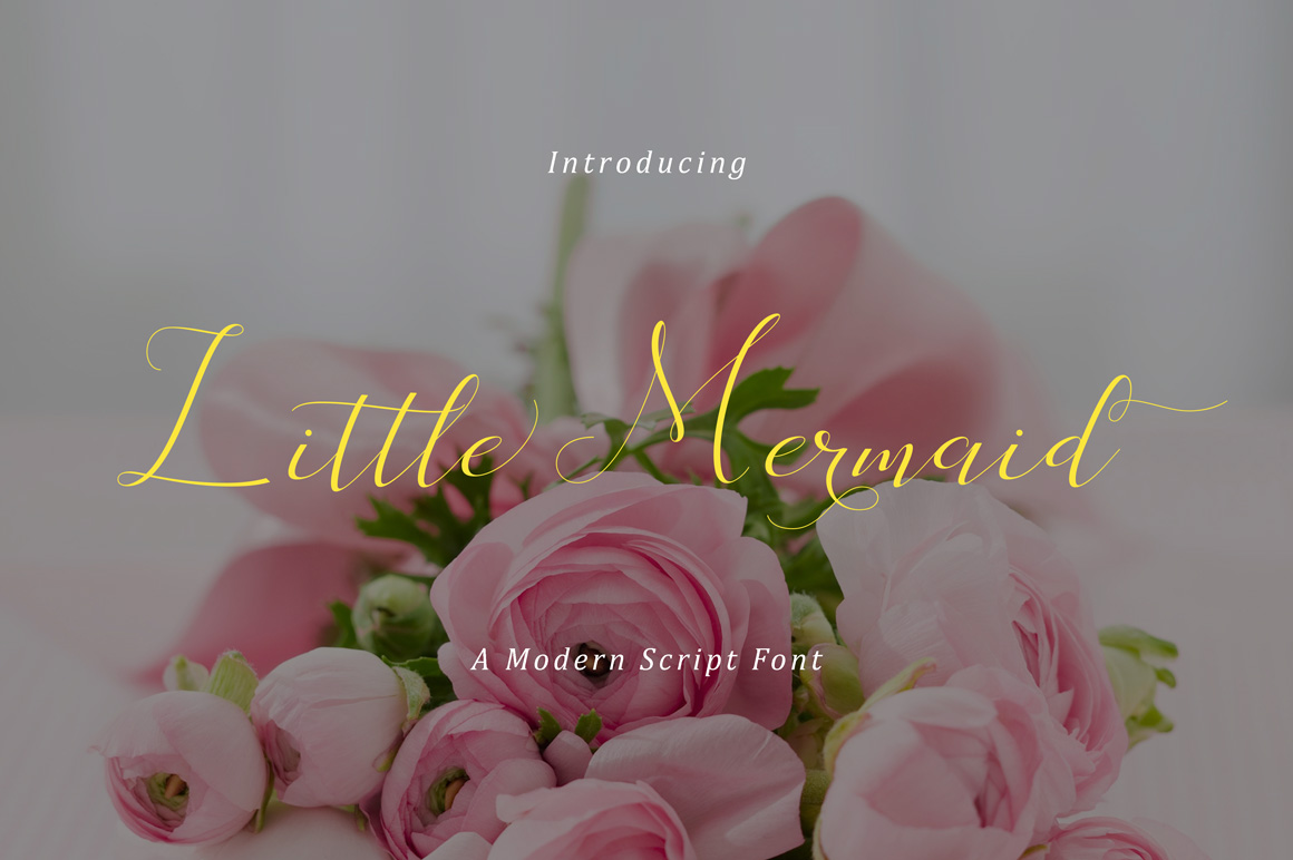Little Mermaid Script & Handwritten Font By No Gravity Type