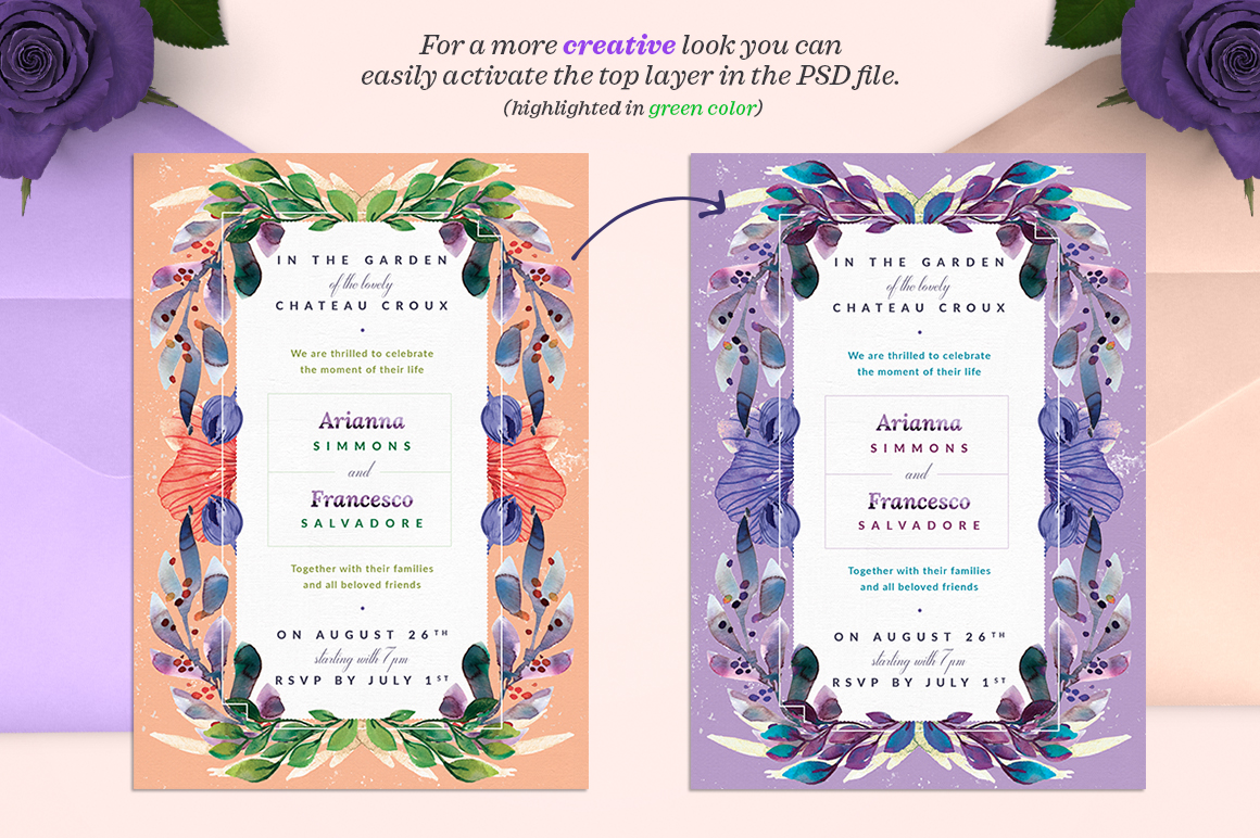 Lovely Spring Story Invite I Graphic Print Templates By lavie1blonde - Image 2