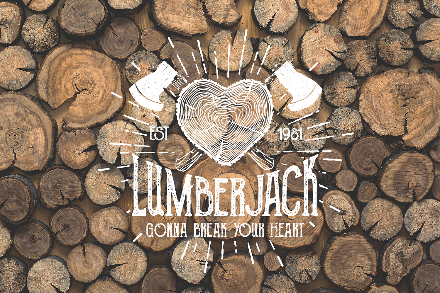 Lumberjack - Vintage Badges Graphic By Cosmic Store Image 4
