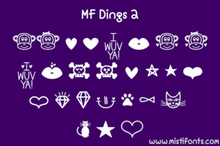 MF Dings 2 Font By Misti