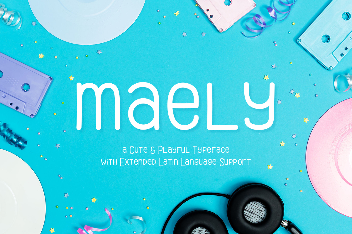 Print on Demand: Maely Script & Handwritten Font By typefairy - Image 1