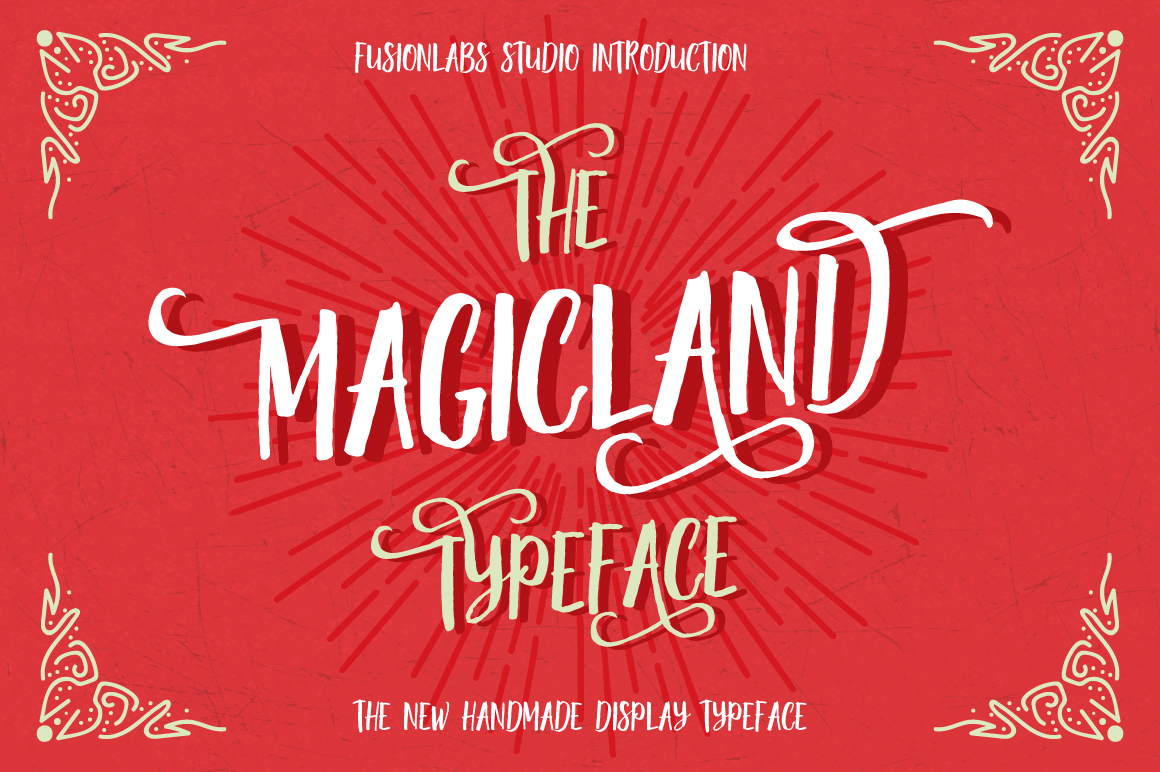 Print on Demand: Magicland Display Font By Fusion Labs Type Foundry