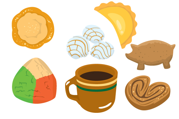 Download Free Mexican Pastries Svg Cut File By Creative Fabrica Crafts for Cricut Explore, Silhouette and other cutting machines.