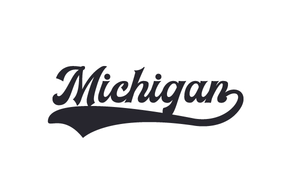 Michigan Word Art Craft Cut File By Creative Fabrica Crafts