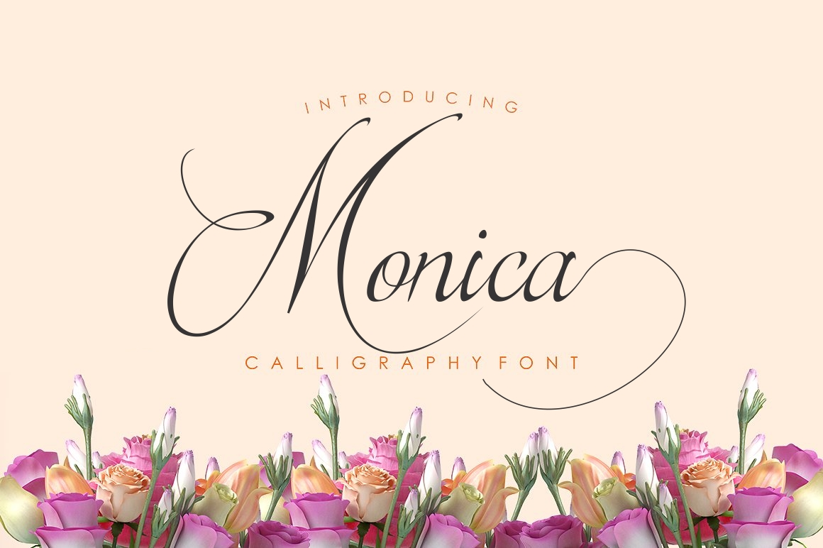 Monica Font By screen letter