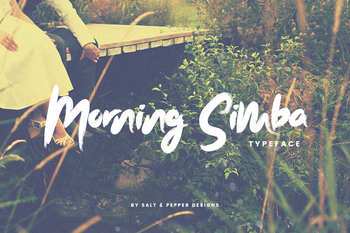 Print on Demand: Morning Simba Script Script & Handwritten Font By Salt & Pepper Designs
