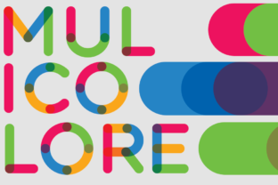 Multicolore Vector Typeface Graphic By neogrey