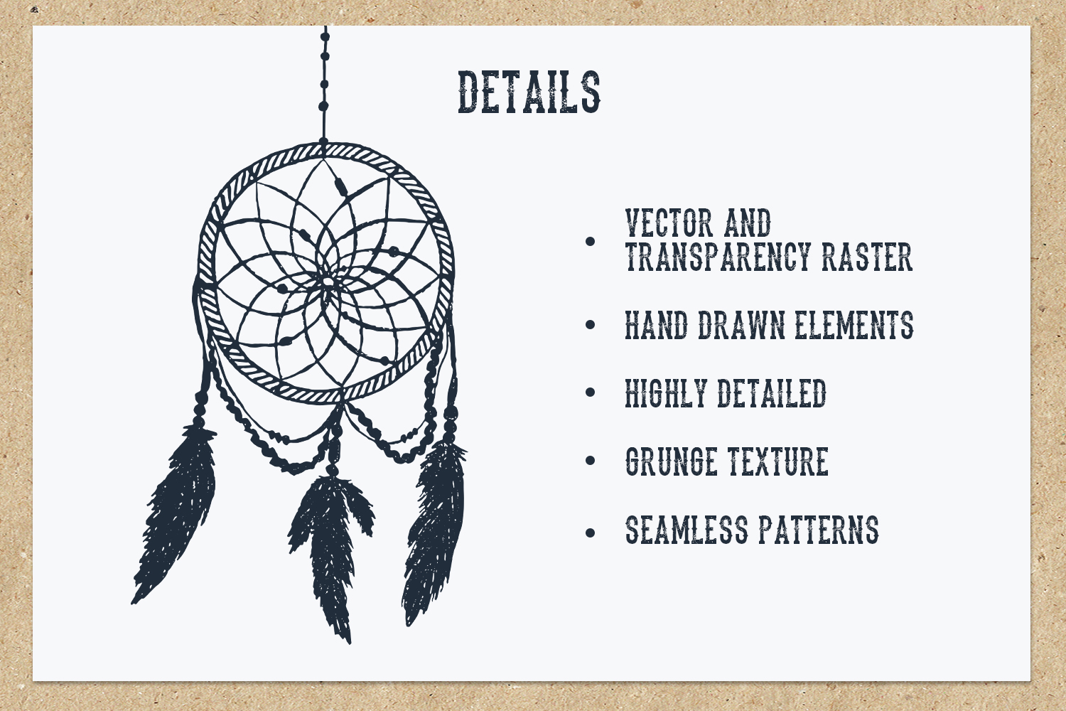 Native Spirit - 55 Hand Drawn Objects Graphic By Cosmic Store Image 3