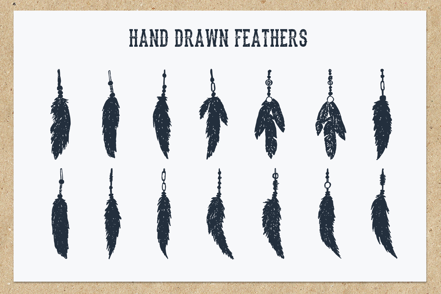 Native Spirit - 55 Hand Drawn Objects Graphic By Cosmic Store Image 6