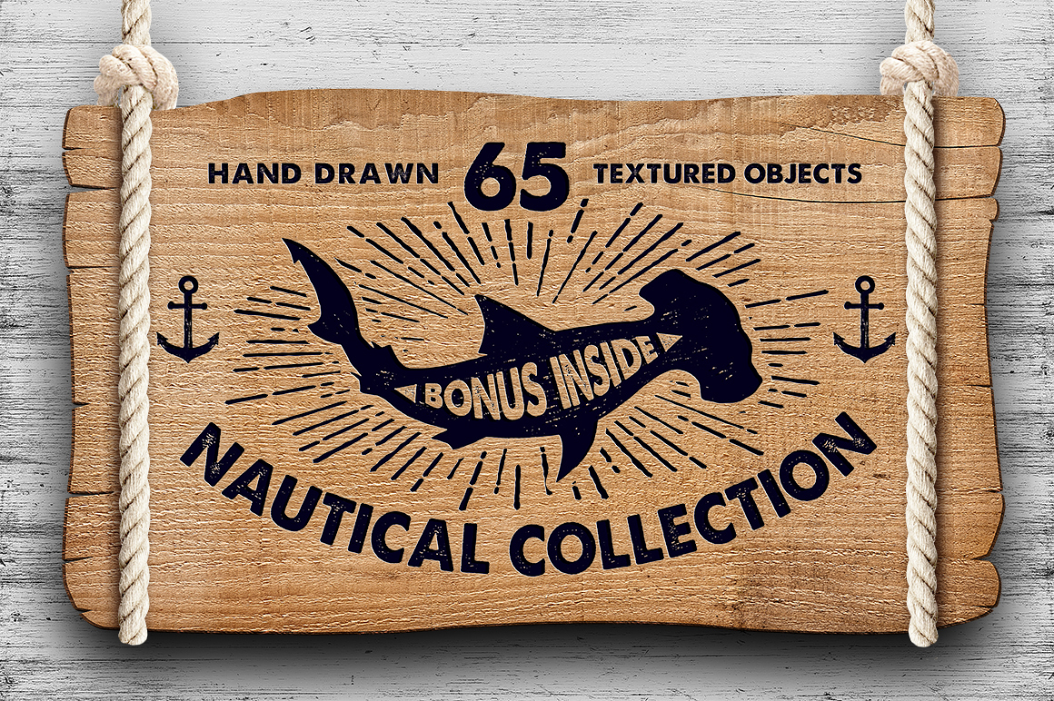 Print on Demand: Nautical Collection Graphic Illustrations By Cosmic Store