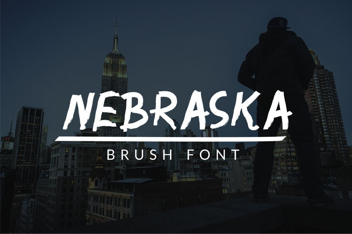 Nebraska Display Font By No Gravity Type