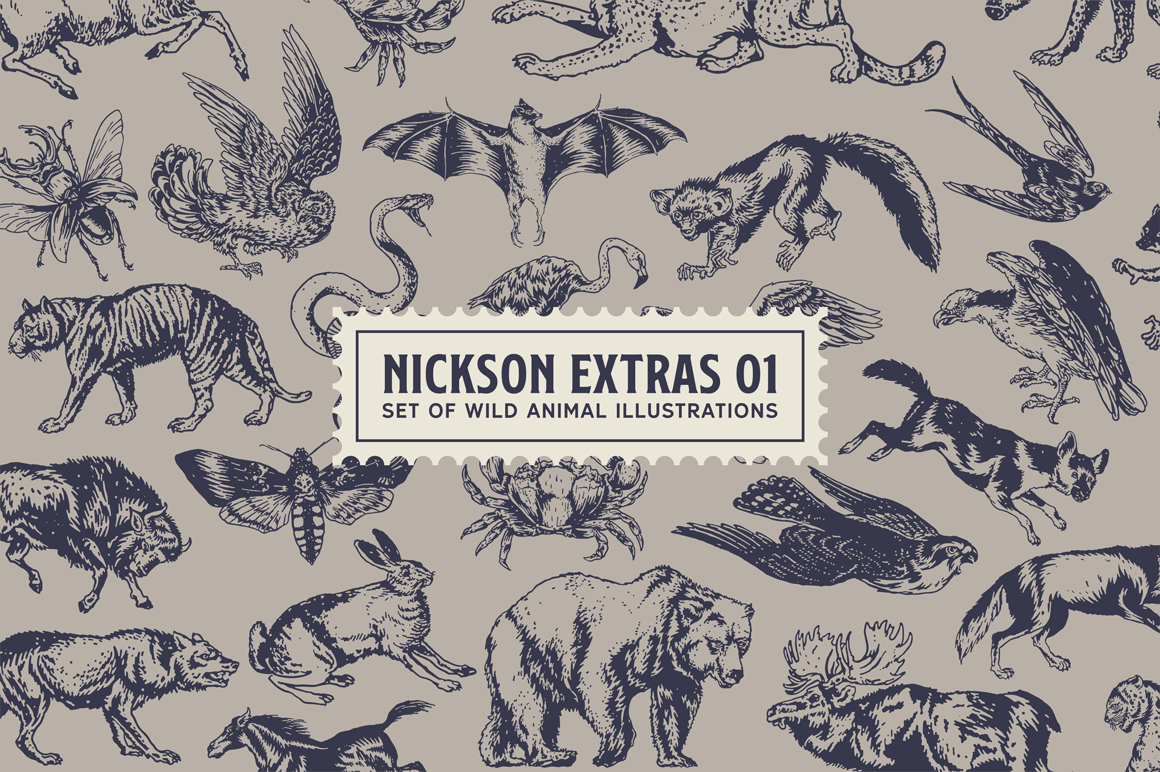Print on Demand: Nickson Display Font By Spencer - Image 2
