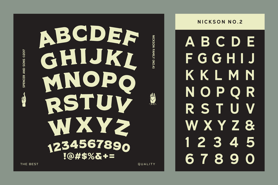 Print on Demand: Nickson Display Font By Spencer - Image 11