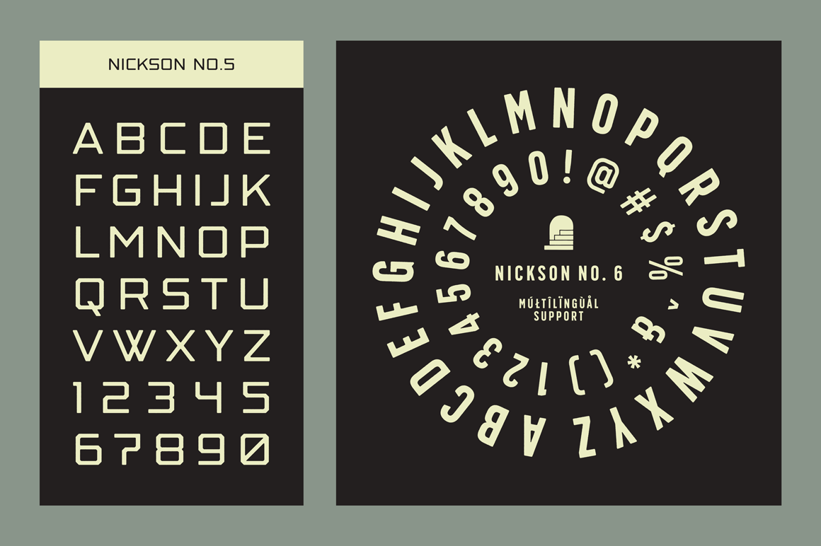 Print on Demand: Nickson Display Font By Spencer - Image 13