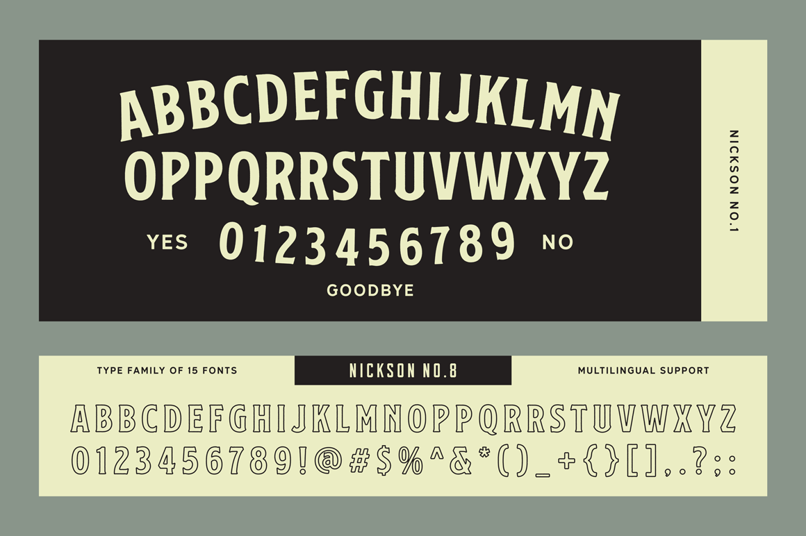 Print on Demand: Nickson Display Font By Spencer - Image 18