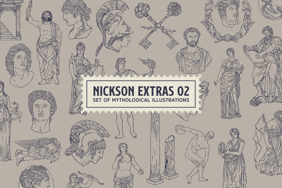 Print on Demand: Nickson Display Font By Spencer - Image 4
