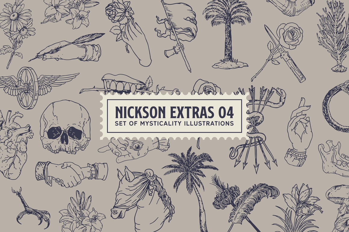 Print on Demand: Nickson Display Font By Spencer - Image 8