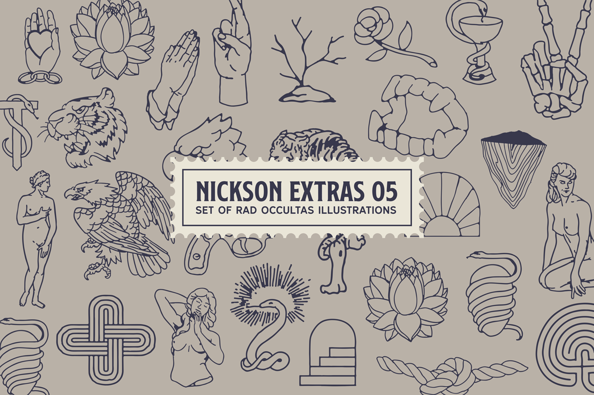 Print on Demand: Nickson Display Font By Spencer - Image 10